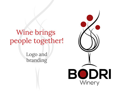 Logo and branding for a winery