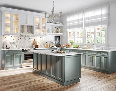 Trinity Kitchen CGI Render