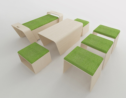 The Compact Dining Set