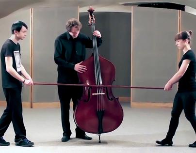Trio for Solo Contrabass