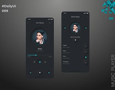 DailyUI 009 : Music Player