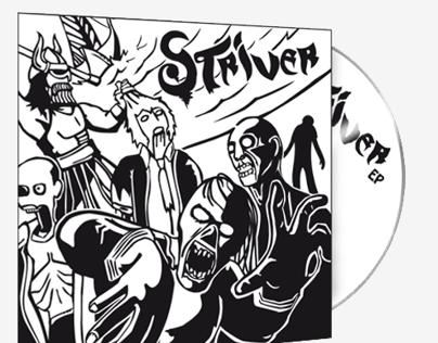 Striver. Album Cover