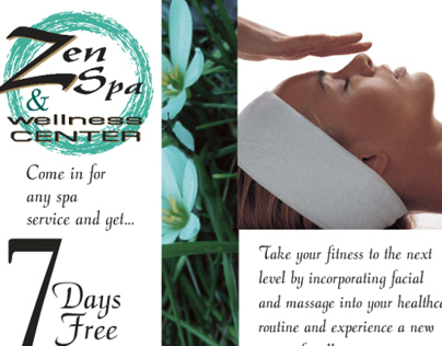 Zen Spa - Promotions