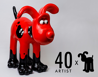 Gromit Art Collaboration by Jaein Park