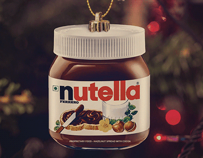 Nutella Holiday Campaign
