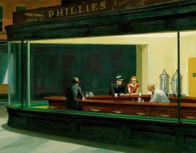 "Stereo Conversion of Hopper's ""Nighthawks"""