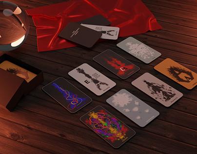 The Typographer's Tarot Cards