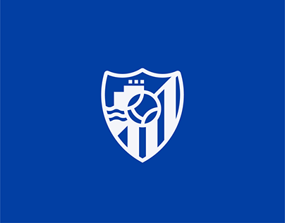Málaga CF Crest Redesign