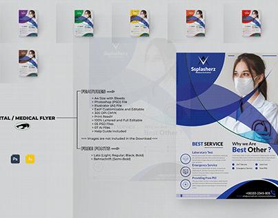 Medical Flyer Design Template