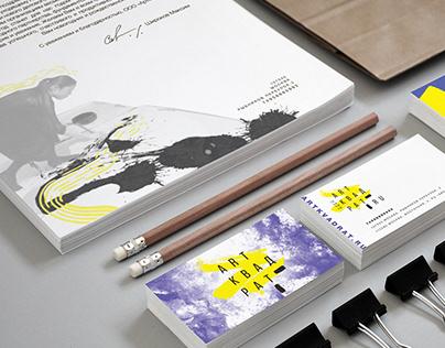 Brand identity | ArtKvadrat art shop