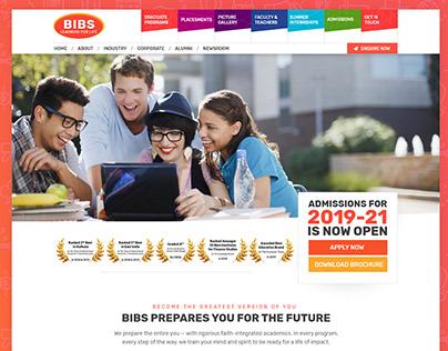 BIBS Educational Institute Website Redesign