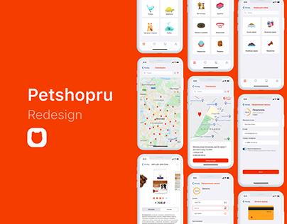 Petshopru — Reinventing for online pet store