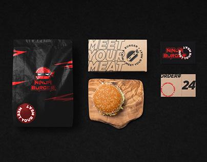 Ninja Burger I Branding