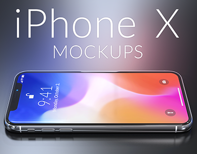 18 Iphone X Mockups