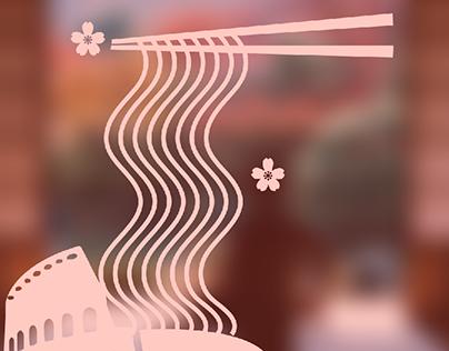 Concept idea for a Ramen Shop