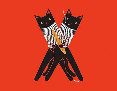 Cats Lock: 36 Days of Type 2019
