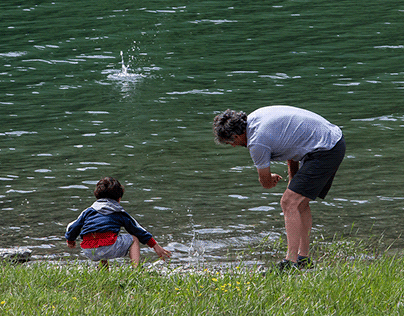 al lago di Castello