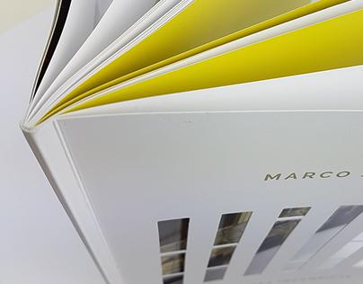 Art catalog for artist Marco Sciame