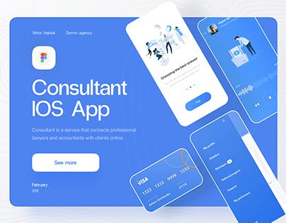 Consultant IOS mobile app