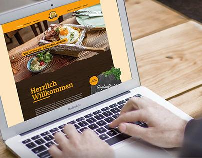 Webseite für das Kartoffelhaus Eisenach