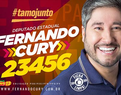 Fernando Cury Campanha eleitoral