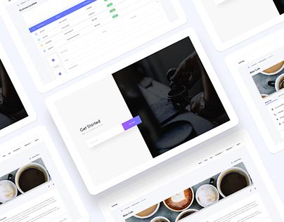 Web App | Cafelog | Restaurant Portal Web Application