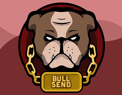 Bull Send Logo