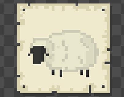 Pixel Resource Cards & Hexes