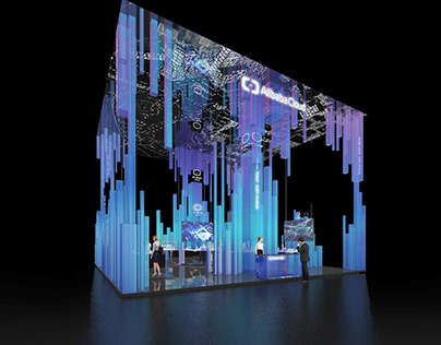 Alicloud Booth design