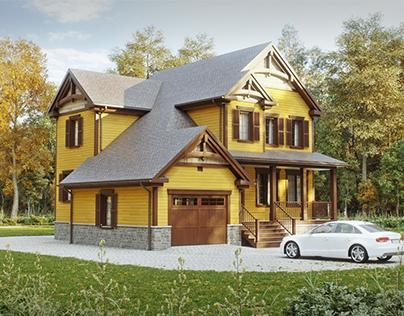 Private house in Canada.