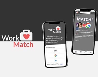 Product Design - Work Match App (Versão Completa)