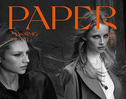 MASSIMO DUTTI | EDITORIAL DESIGN