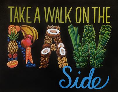 Raw Side - WFM Chalk Illustration
