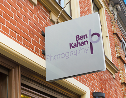 Ben Kahan Photography Logo Redesign