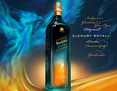 Johnnie Walker Blue / Ghost & Rare