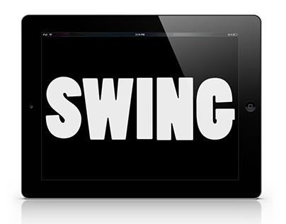 swing, still.