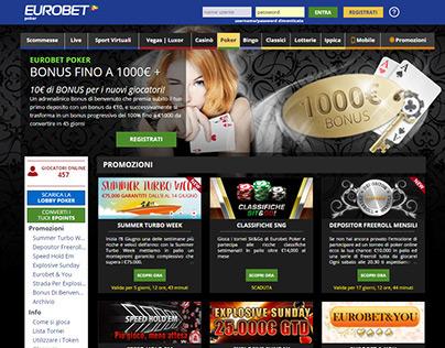 Eurobet Poker Layout