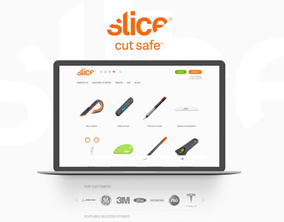 Sliceproducts.com e-commerce