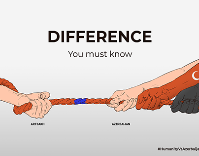 """""""Difference you must know"""", """"RecognizeArtsakh"""""""