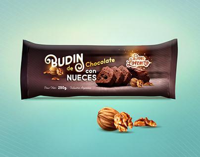 BUDIN de Chocolate PACKAGING DESIGN