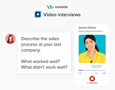 Workable Video Interviews