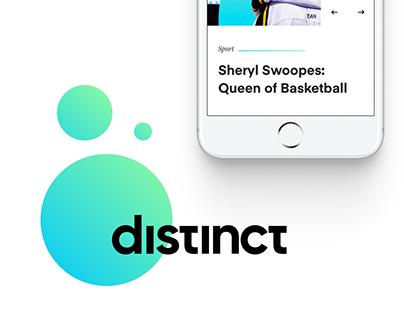 Distinct Branding and Website