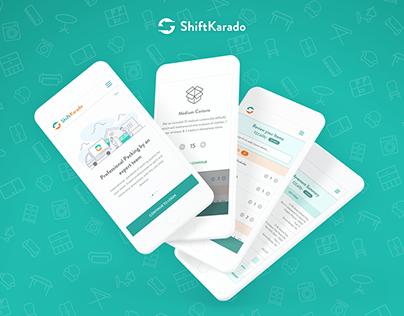 ShiftKarado - Web App Design
