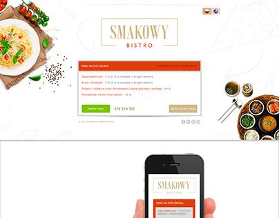 Smakowy bistro by www.enyks.pl