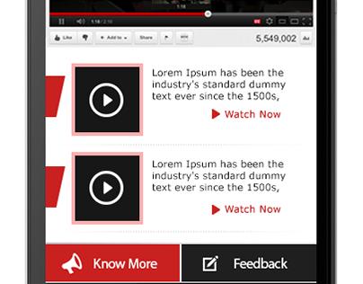 Mobile App Designs by Lalit Mishra : 8010464654