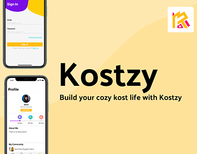 Kostzy - An app for cozy kost life