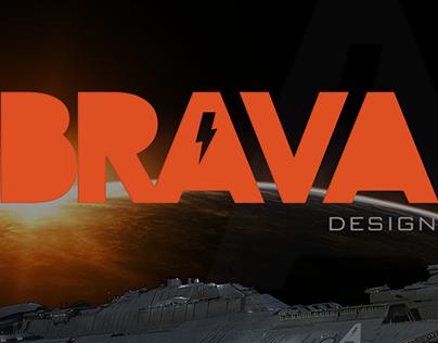 Logo Brava Design