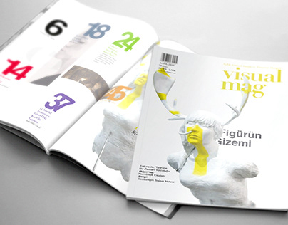 Visual Mag Magazine Design
