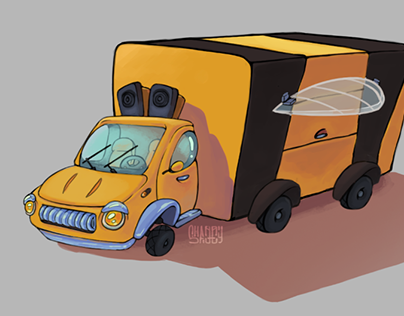 The Beatles Cars Concept