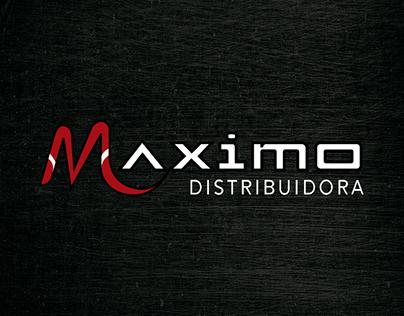 maximo distribuidora's logo redesign